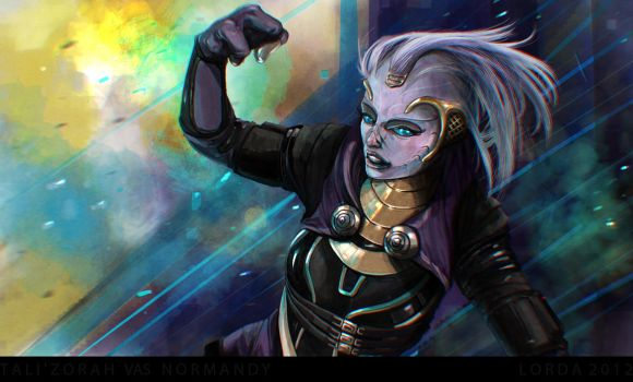 Tali'Zorah by LordaGoran