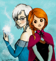 Frozen+SnK Crossover by LaHaRo