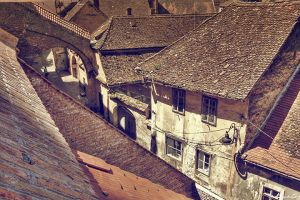 Old city of Sibiu 5 by FriendlyPiranha