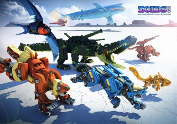 Zoids Fan Anthology Submission by Stompy1