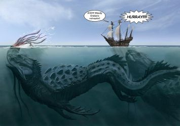 Sea Monsters by LDN-RDNT