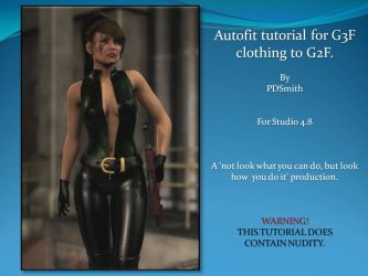 Autofit G3F Clothing to G2F by PDSmith