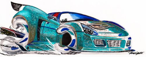 Opel Speedster Toon by theTobs