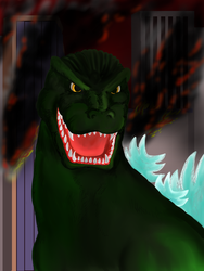 King of the Monsters by apeman505