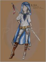 Outfit Assassine Lyria by plauer