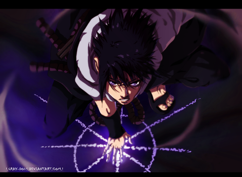 Naruto 633 - Uchiha Sasuke I.New Version.I by Gray-Dous