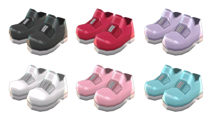 [MMD] Mary Jane Shoes [+DL] by Juniee-P