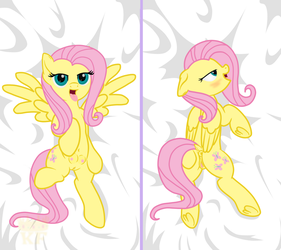 Fluttershy dakimakura. Version 1 by King-Franchesco