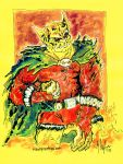 Etrigan the Demon by mannycartoon