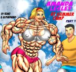 AMANDA LESLEY AT SUMMER CAMP Part 1 COVER by Alphadaawg