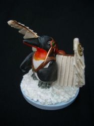 Steampunk Penguin by liselfwench