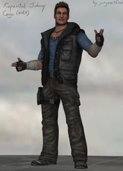 Repainted Johnny Cage MKX [xps download] by judgmentfist