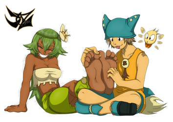 Wakfu Tickling by DazidentEvil