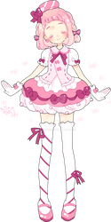 cotona's sweet candy coord by Hacuubii