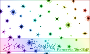 Star Brushes 1 by Snowyowl88-Stock