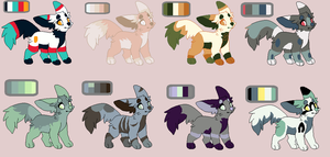 Dog Adopts OTA batch #2 *CLOSED* by SweetZtea