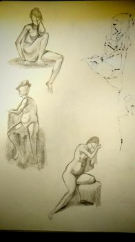 Just some drawings 4 by Dcube333