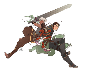 my bf speaks softly and carries a big sword by Yutaan