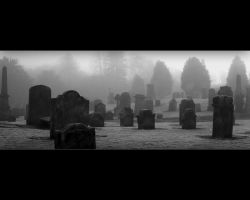 Old Graveyard - Christmas Day by fourhero