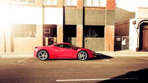 Ferrari 458 in Freamantle by tmz99