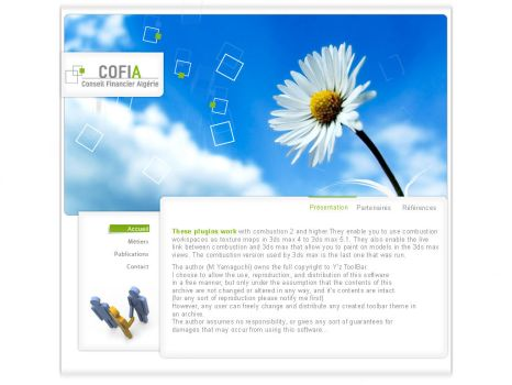 cofia-dz web interface by 4rm