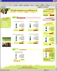 Wine E-commerce demo by saimon69