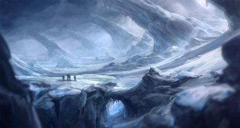 Frozen wasteland - revised by merl1ncz