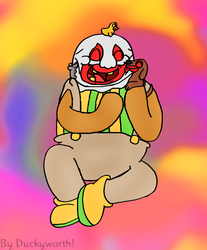 Dropsy the Hugging Clown by Duckyworth
