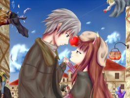 Spice and Wolf: Apple Day by AnimeFury