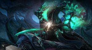 Dying of the Light (Thresh vs Lucian) by HeadcrabeD