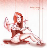 the red puppet by MarineElphie