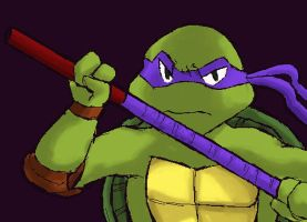 donatello-Don't anger me- by koju327