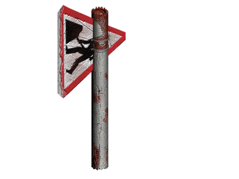 Roadsign Axe - 3DS Max by shugs81