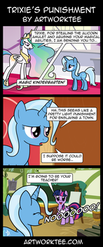 Trixie's Punishment by artwork-tee