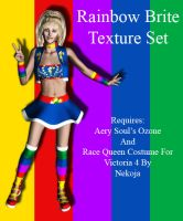 Texture Set For Rainbow Brite by Afina79