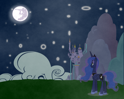Princess Of The Night by pokeshipper4life