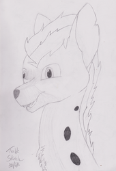 Commission | Sparky (Headshot) by ILM126
