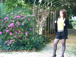 stock Yellow 12 by LianViolet