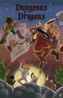 Dungeons and Dragons by spuds-n-stuff