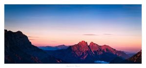 Morning over Admont by AndreasResch
