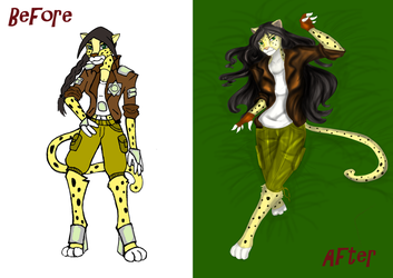 Compare: Old and New Mell by Yanagirl