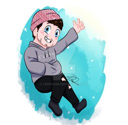 YT - Fave Youtubers - Jacksepticeye by Linadoon