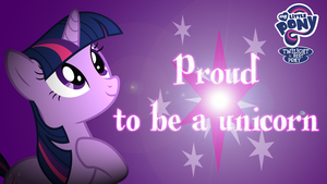 Proud to be a unicorn by kwark85