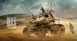 Reliant Robin Mad max by yasiddesign