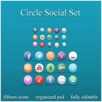 Circle Social Set by ryan-bibb