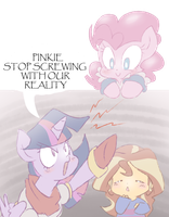 Pinkie Doesn't Make Any Sans by thegreatrouge