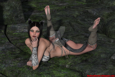 RLA Lucia Pinup 2 VHQ by redleatherart