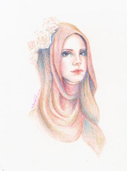 Lana del Noor by moonhmz