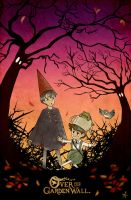 Over the Garden Wall by Voodoo--Dolly