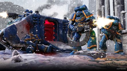 Ultra Marines by CarlHolden